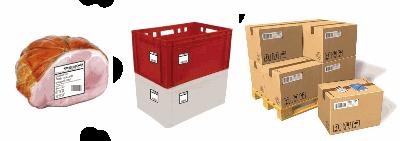3 уровня маркировки: порция ящик паллет