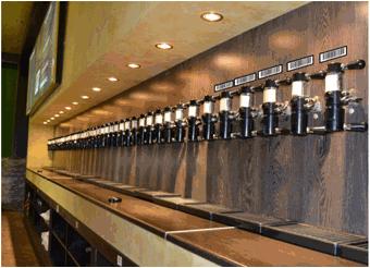 Автоматизация учета на точке по продаже разливного пива