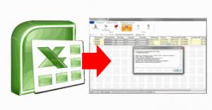 весовые комплексы печати этикеток Импорт данных из Excel