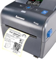 принтер с этикеткой